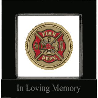 Front image of Fire Fighter (United States) Medallion