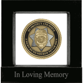 Front image of Law Enforcement (United States) Medallion