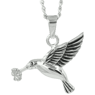 Front image of Hummingbird Keepsake (Urn)