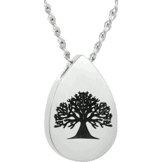 Front image of Teardrop Tree of Life Keepsake (Urn)