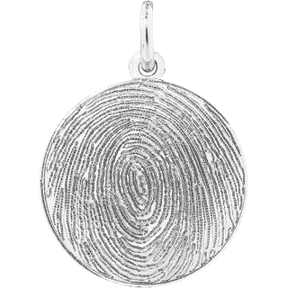 Sterling Silver Circle Keepsake (Urn)