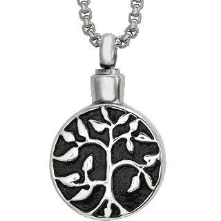 Front image of Tree of Life Pendant Keepsake (Urn)