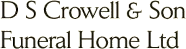 DS Crowell & Son Funeral Home Ltd.